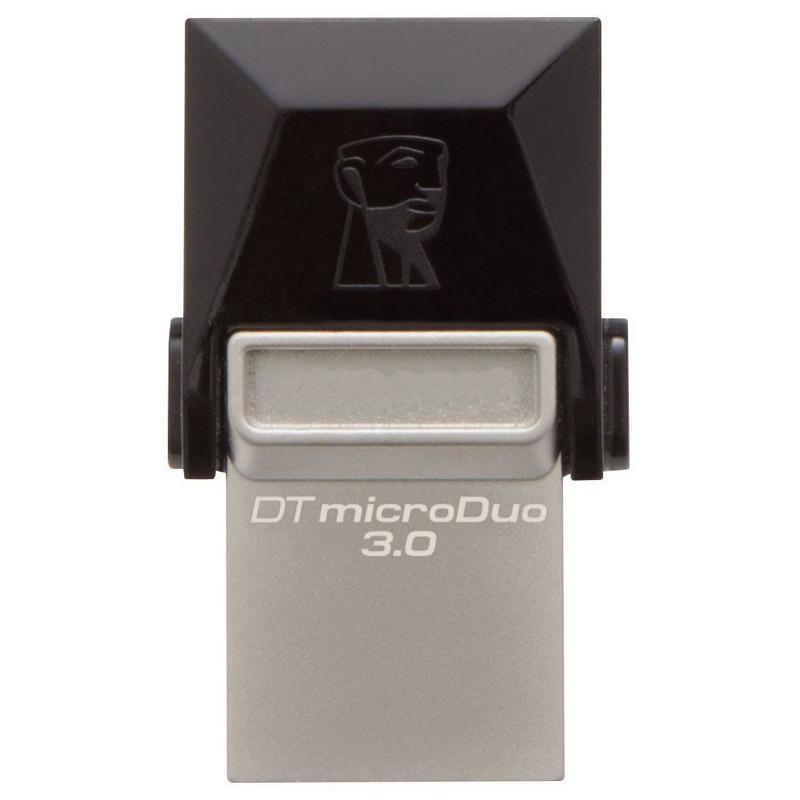 Kingston 64GB DataTraveler Micro Duo OTG USB 3.0 / Micro USB Flash Drive - 70MB/s