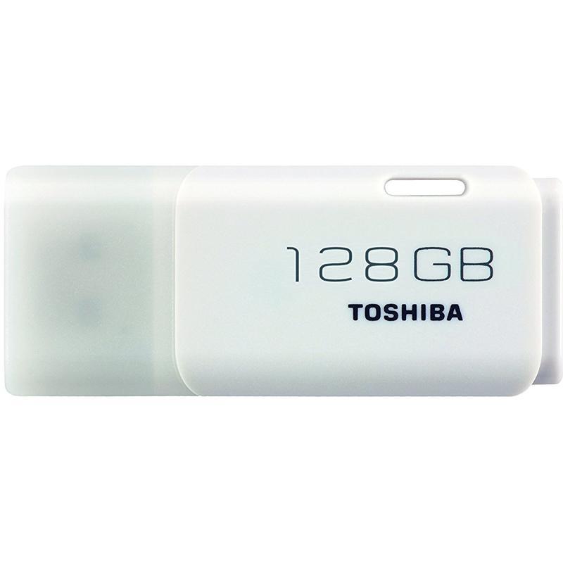 Toshiba 128GB Transmemory U202 USB Flash Drive - White