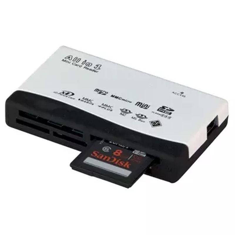 MyMemory All In One USB Memory Card Reader CF/MS/XD/SDHC/SD