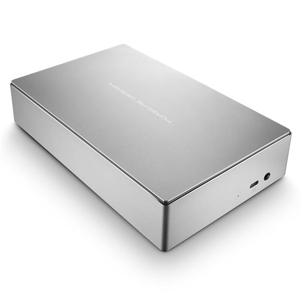 LaCie 5TB Porsche Design USB-C Desktop Hard Drive External HDD - Space Grey