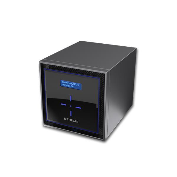 Netgear 8TB 4x2TB ReadyNAS 424 4 Bay Network Attached Storage Desktop Hard Drives