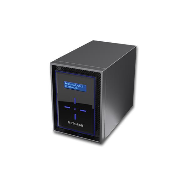 Netgear 4TB 2x2TB ReadyNAS 422 2 Bay Network Attached Storage Desktop Hard Drives