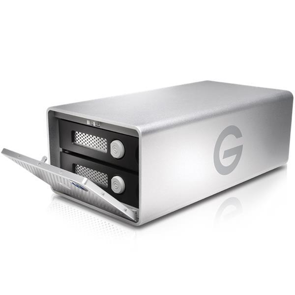 G-Technology 8TB G-RAID Thunderbolt 3/USB-C/HDMI Dual-Hard Drive Array External - 500MB/s