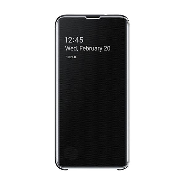 Samsung EF-ZG970 Clear View Cover (Black) for Galaxy S10e