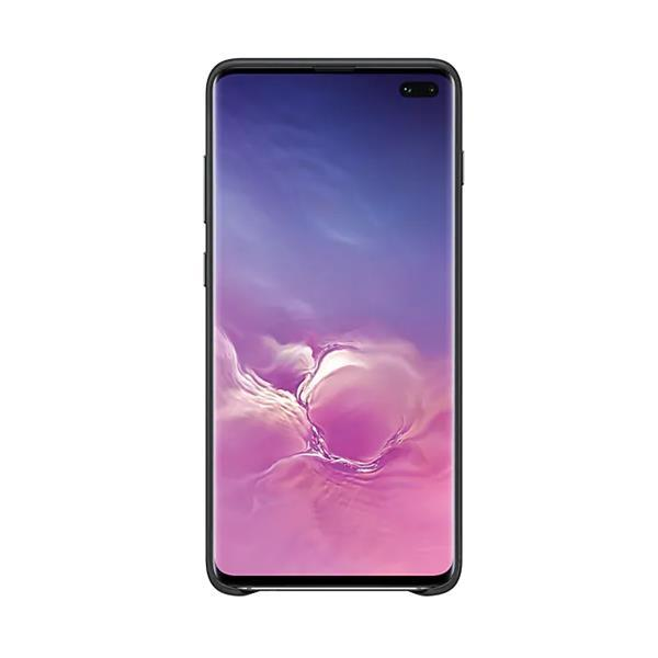 Samsung EF-VG975 Leather Cover (Black) for Galaxy S10+