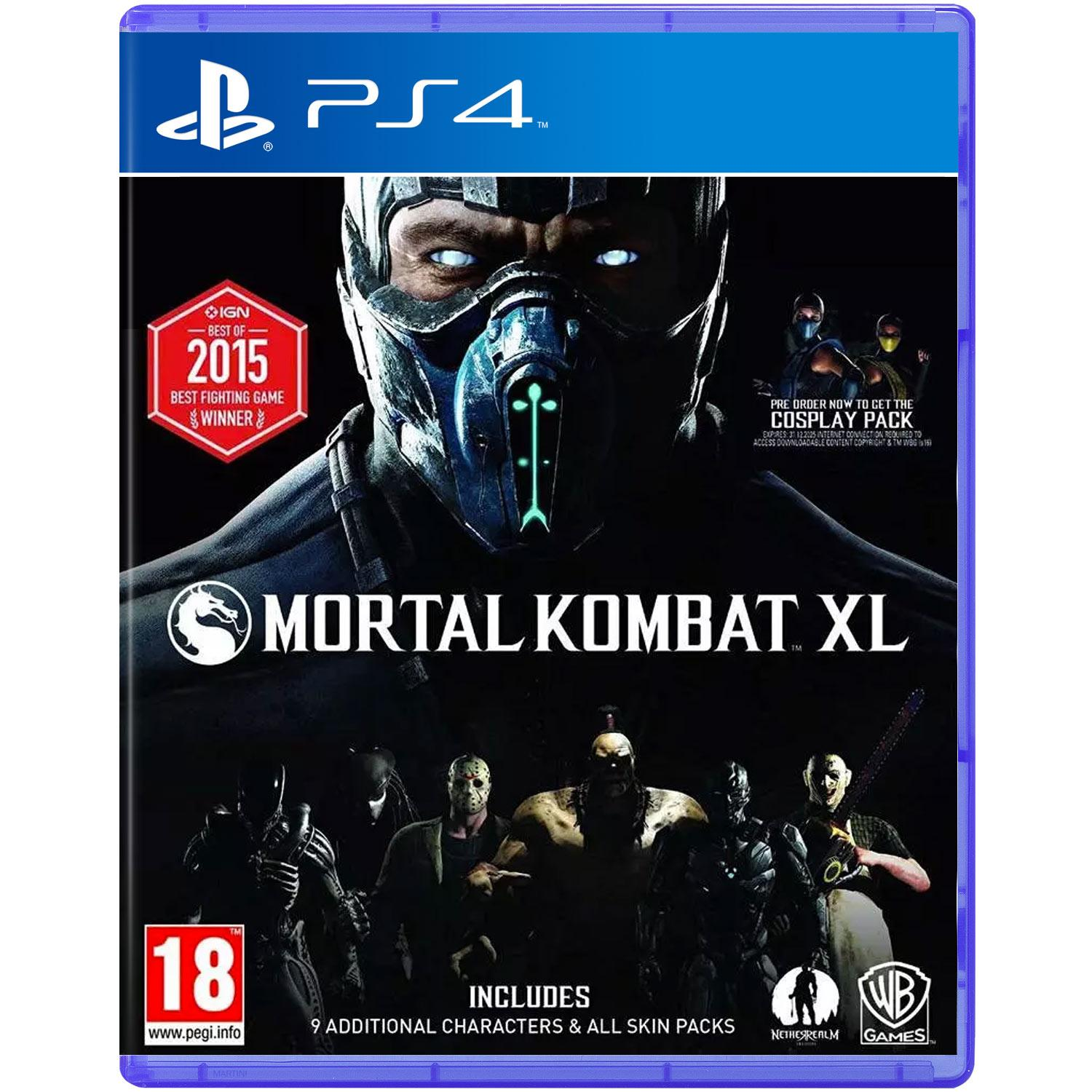 Mortal Kombat XL (Sony PS4)