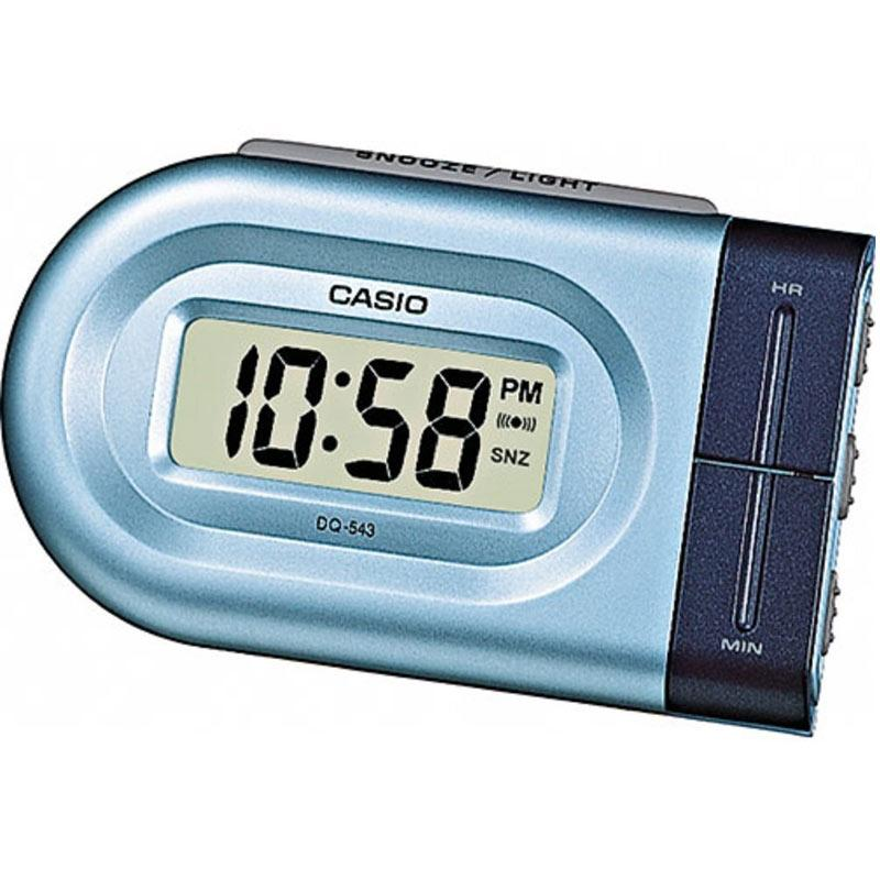 Casio Digital Beep Alarm Clock - Blue (DQ543-2)