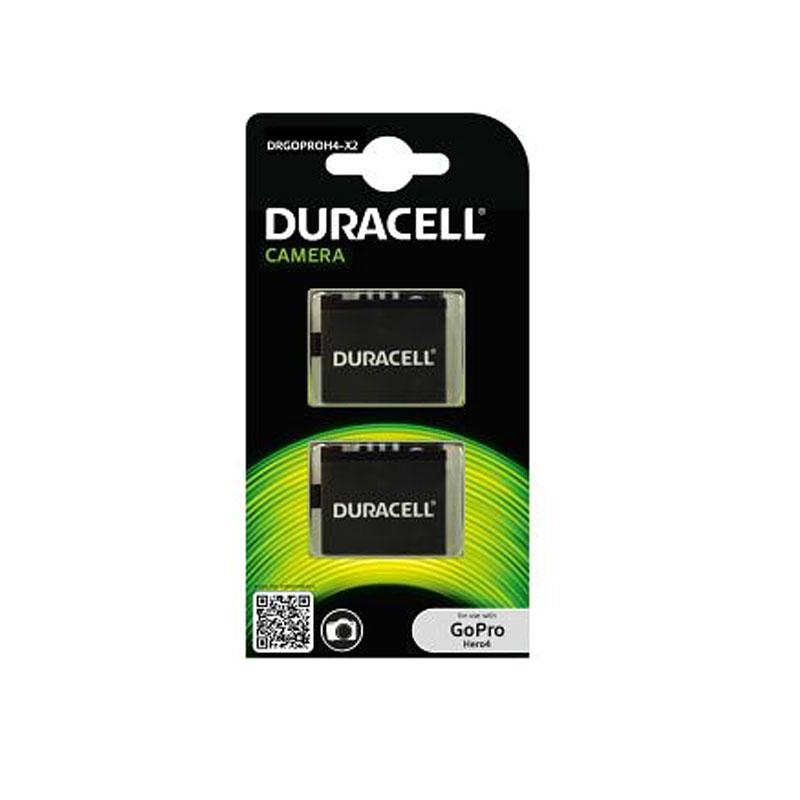 Duracell GoPro Hero 4 Battery - 2 Pack