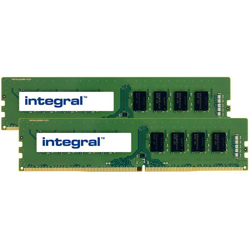 Integral 16GB (2x 8GB) 2400MHz DDR4 DIMM PC Memory Module Kit