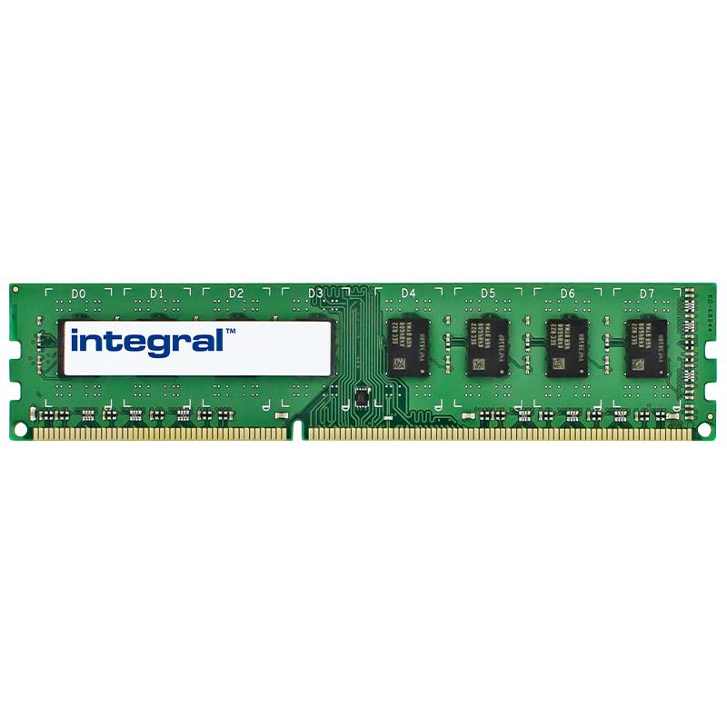 Integral 4GB (1x 4GB) 1600MHz DDR3 DIMM PC Memory Module