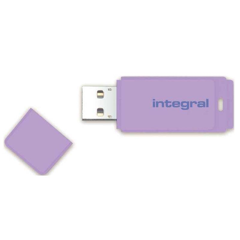 Integral 16GB Pastel USB Flash Drive - 12MB/s - Lavender Haze
