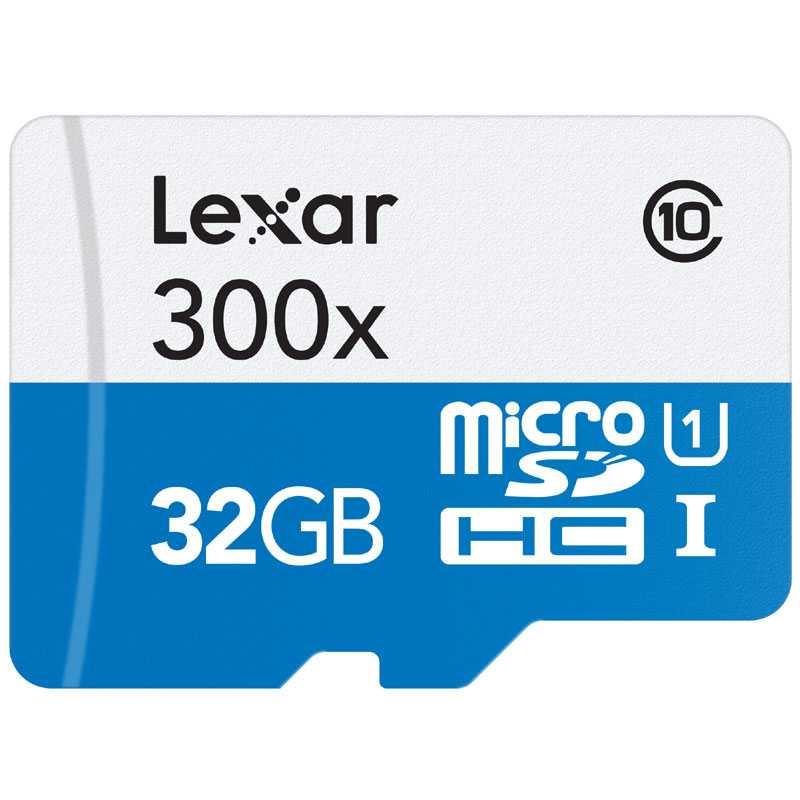 Lexar 32GB High-Performance Micro SD Card (SDHC) - 45MB/s