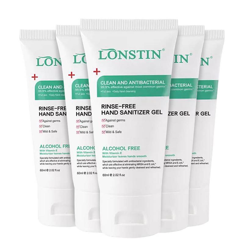 Lonstin Antibacterial Hand Sanitiser Family Pack - 5x 60ml
