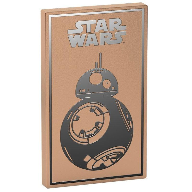 Tribe Star Wars 4000mAh Fast Charge Power Bank - BB8 Gold