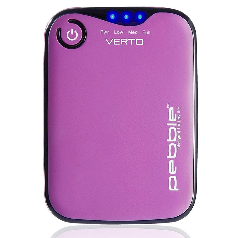 Veho Pebble Verto 3,700mAh Portable Power Bank (Pink)