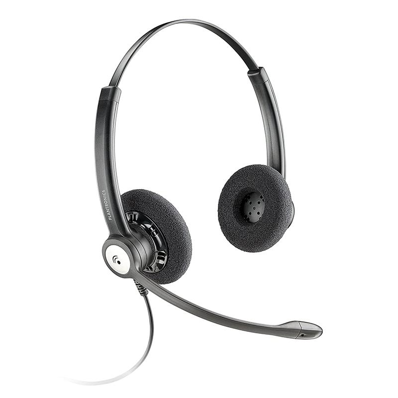 Plantronics Entera Noise Cancelling Stereo Headset (HW121N/A)
