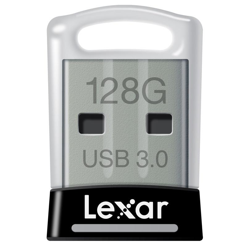 Lexar 128GB JumpDrive S45 USB 3.0 Flash Drive - 150MB/s - Black