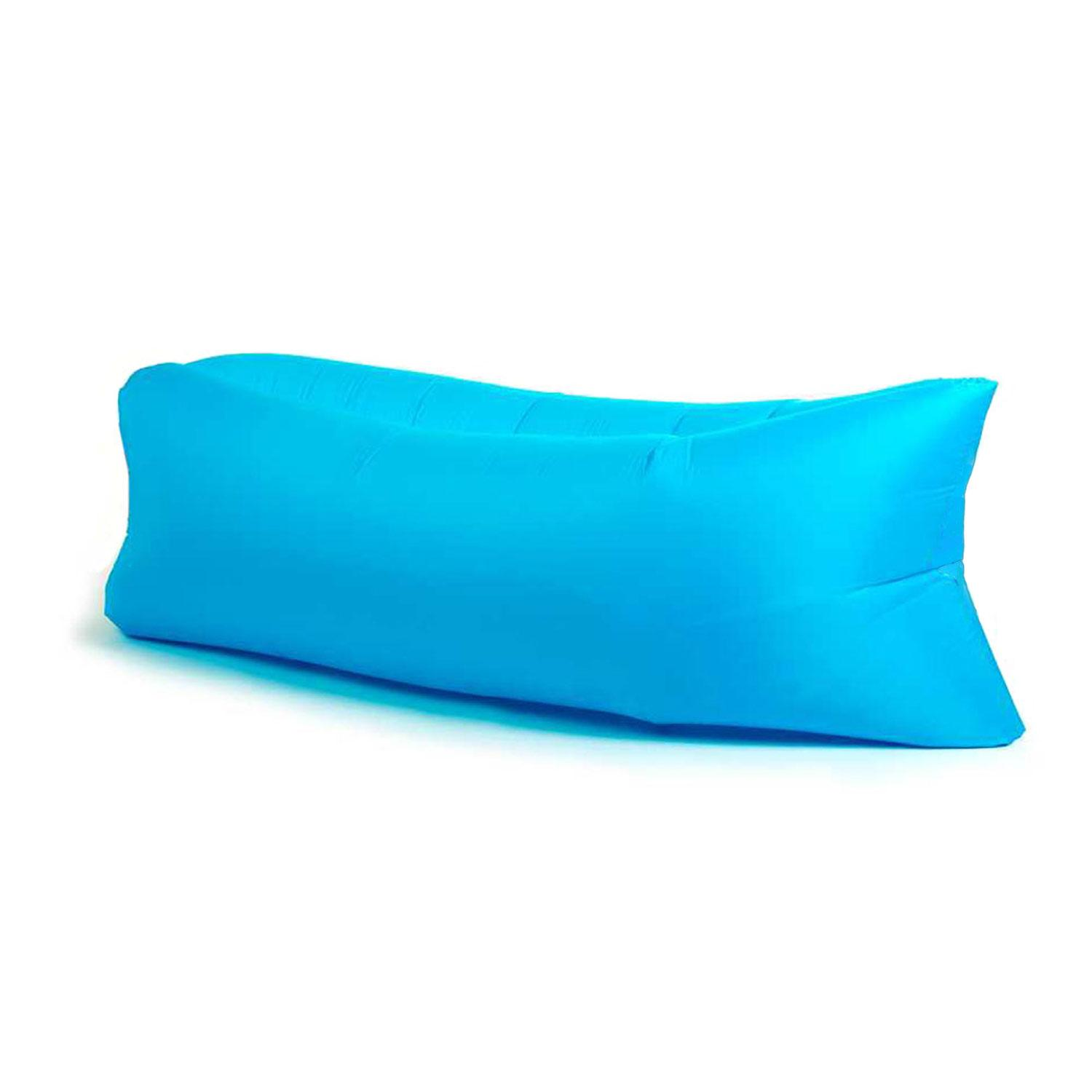 Anywhere Inflatable Lounger Indoor & Outdoor - Blue