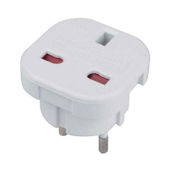UK Plug - European Plug Adapter