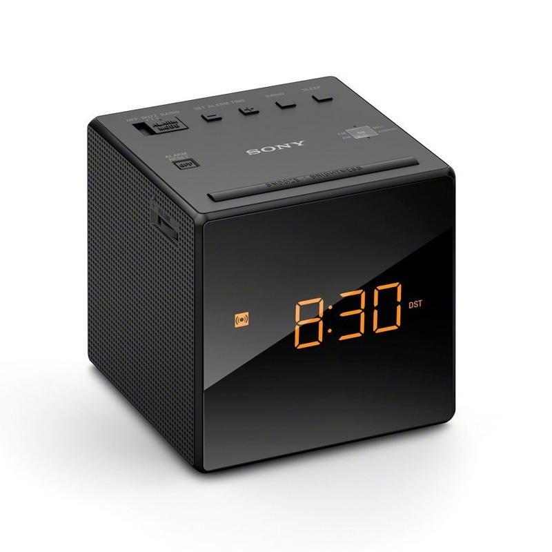 Sony FM/AM Clock Radio - Black