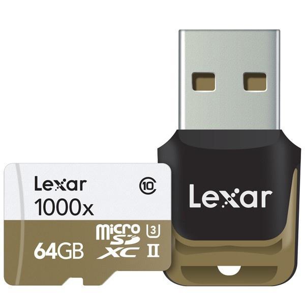 Lexar 64GB Professional Micro SD Card (SDXC) - 150MB/s