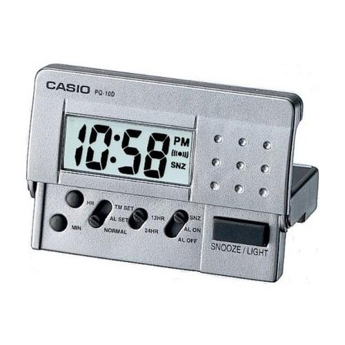 Casio LED Digital Travel Clock