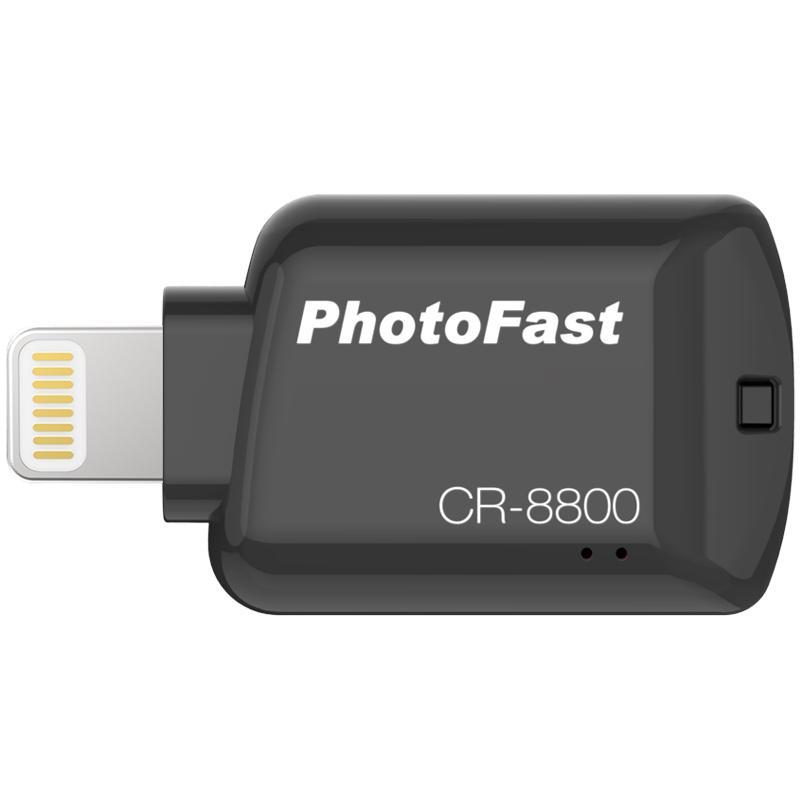 Photofast Apple Lightning to Micro SD Card Reader - Black