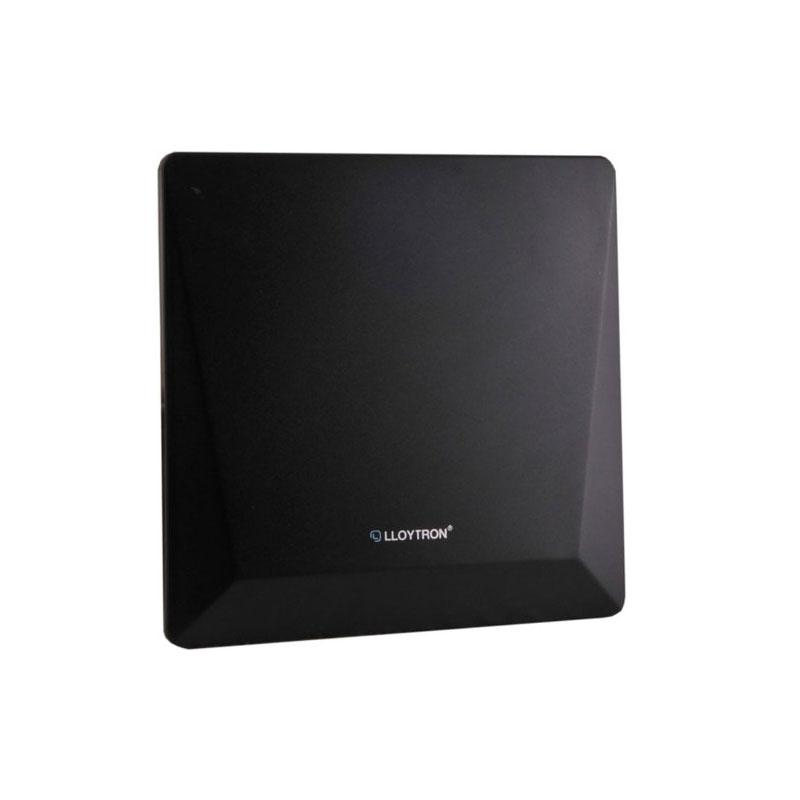 Lloytron Active Indoor Panel TV Antenna - 50dB + 4G Filter - Matt Black (A3103BK )