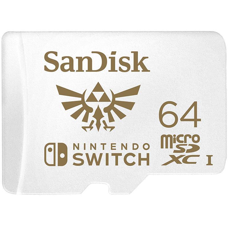 SanDisk 64GB Nintendo-Schalter Micro SD-Karte (SDXC) UHS-I U3 - 100 MB / s