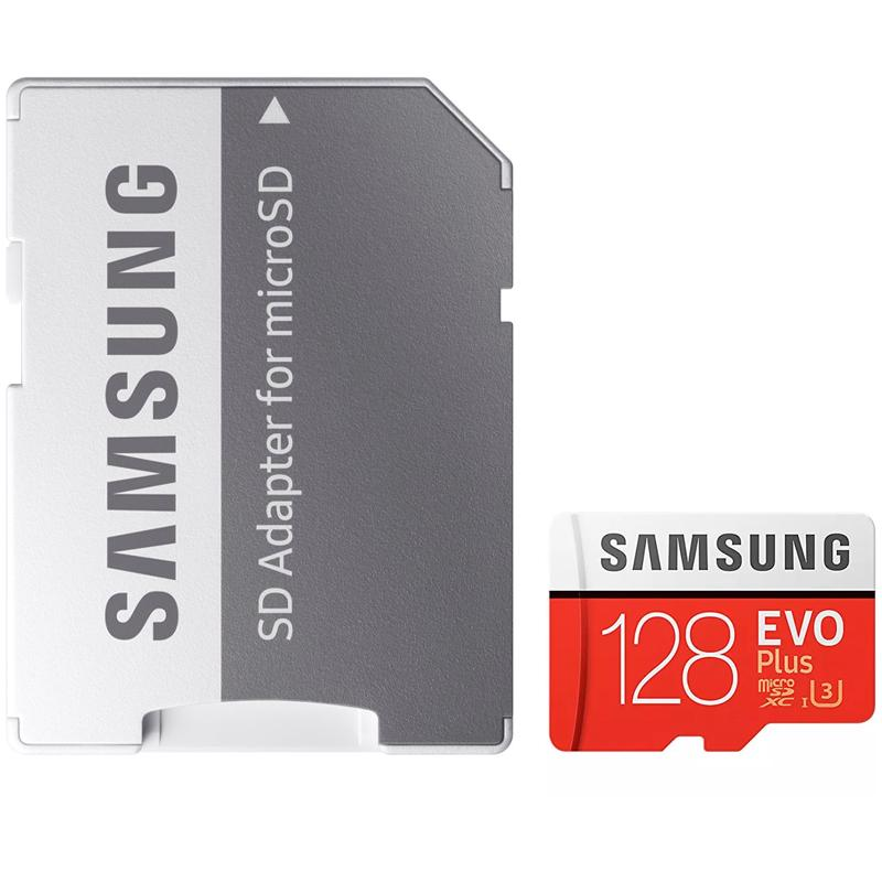 Samsung 128GB Evo Plus Micro SD Karte (SDXC) + Adapter - 95MB/s
