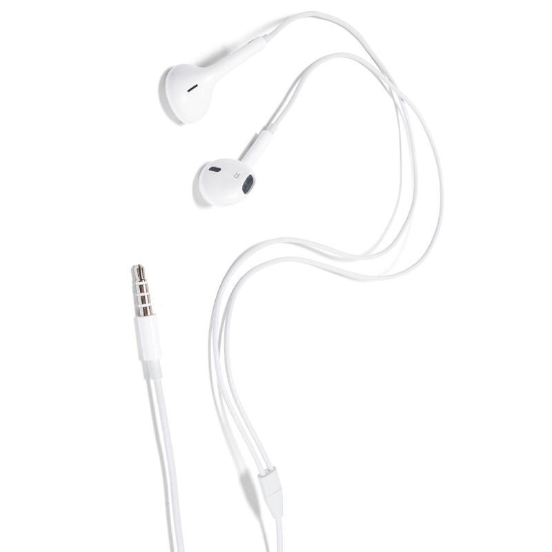 Apple EarPods mit Fernbedienung und Mikrofon 3,5 mm Jack Anschluss - Weiß