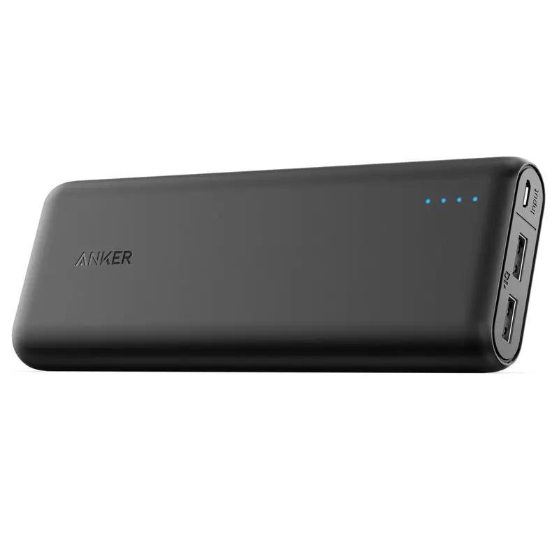 Anker PowerCore 4.8A 15600mAh Portable Power Bank mit PowerIQ - Schwarz