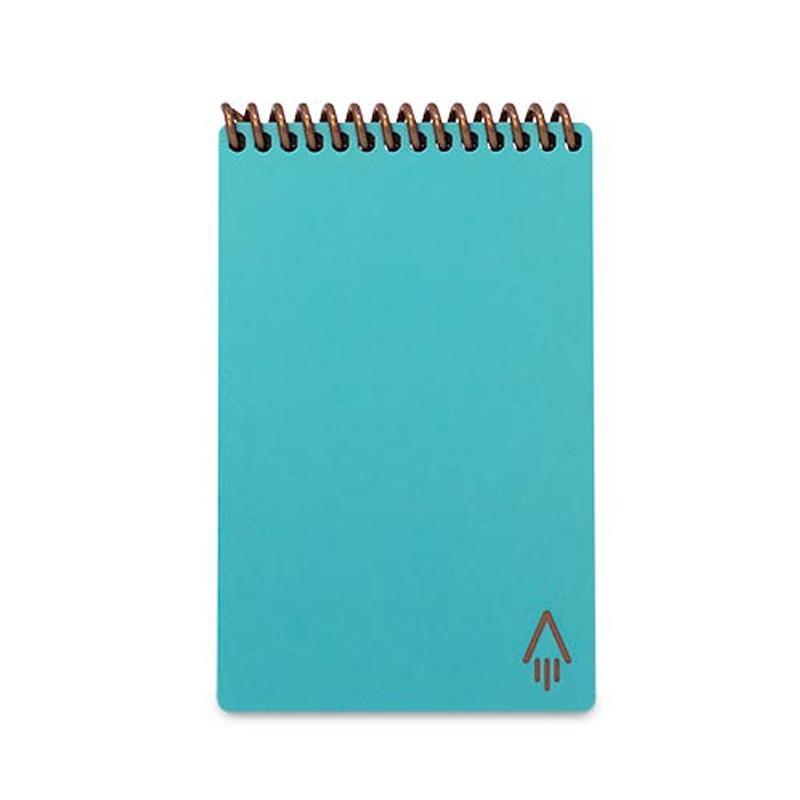 Rocketbook Everlast Smart wiederverwendbares Notebook Mini - Aquamarin