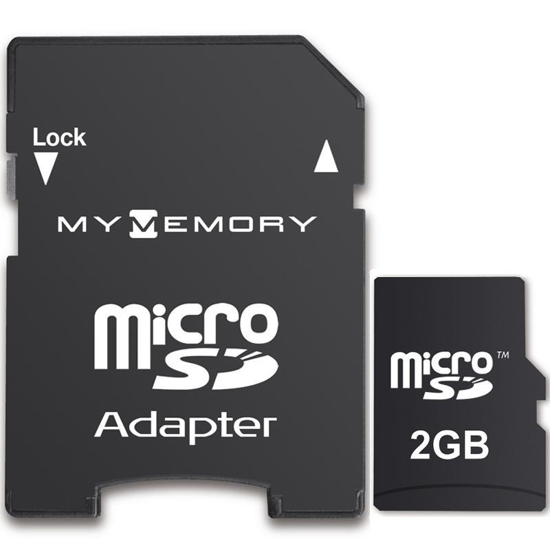 MyMemory 2GB Micro SD Karte + Adapter