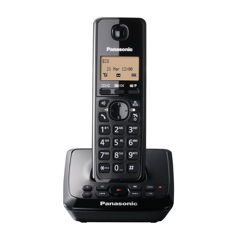 Panasonic DECT Schnurlostelefon mit Anrufbeantworter (KX-TG2721EB)