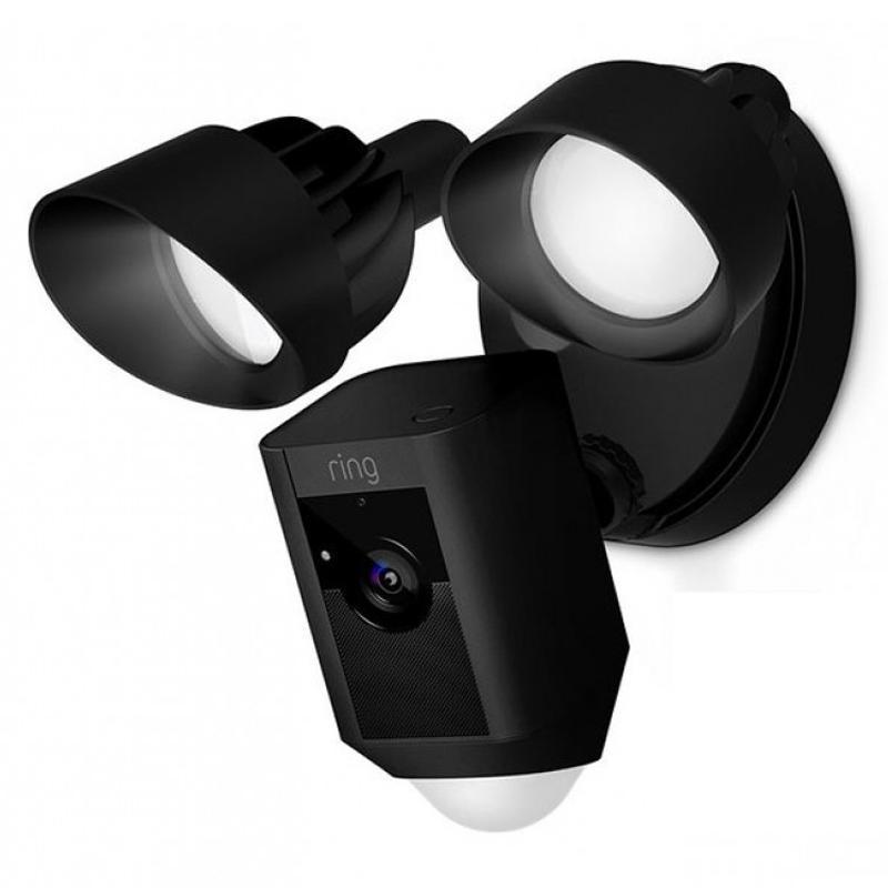 Ring Floodlight Wireless Kamera - Schwarz