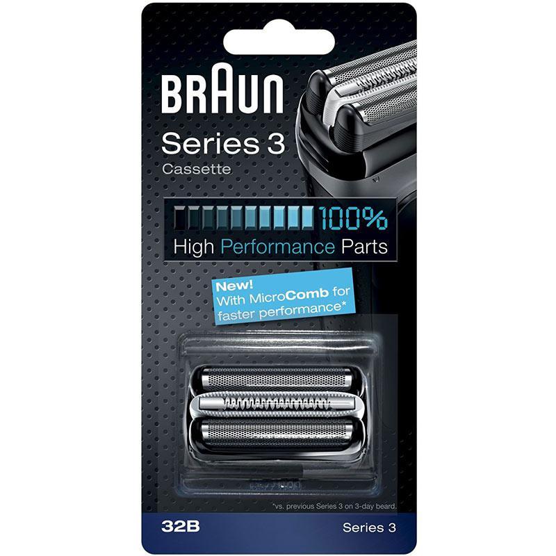 Braun Series 3 Elektrorasierer Ersatzfolienpatrone 32B