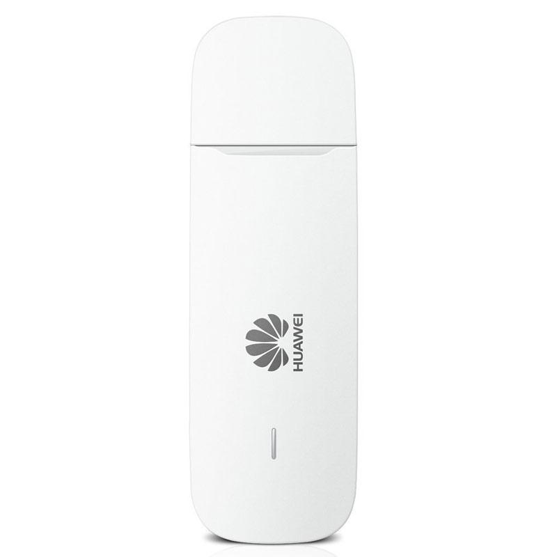 Huawei 3G / 21 Mbps Entriegeltes (Unlocked) tragbares High Speed USB Dongle Modem - Weiß