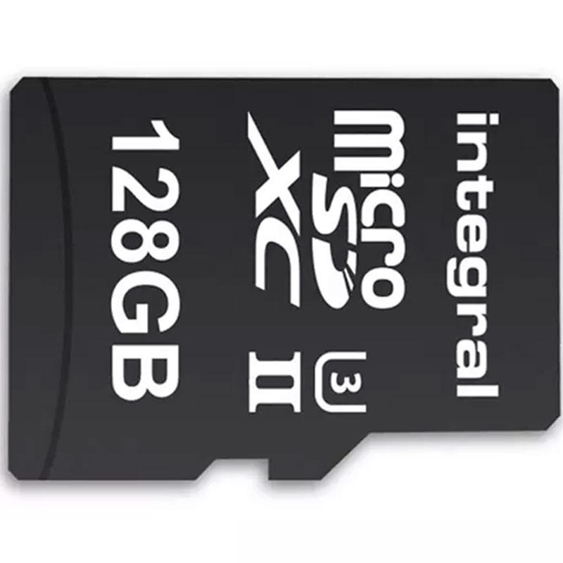 Integral 128GB UltimaPRO-X2 V60 Micro SD Karte (SDXC)  UHS-II U3 + Adapter - 280MB/s