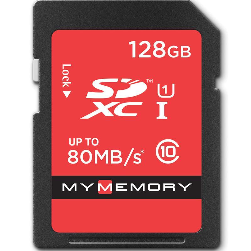MyMemory 128GB SD Speicherkarte (SDXC) UHS-I U1 - 80MB/s
