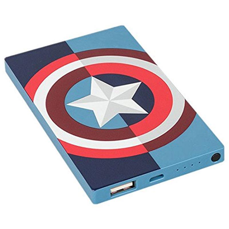 Tribe Marvel Avengers 4000mAh Schnellladung Power Bank - Captain America