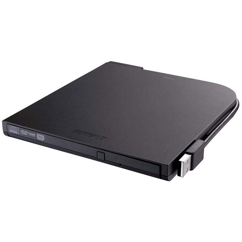 BUFFALO 8x Ultra-Thin Portable USB 2.0 DVD Writer