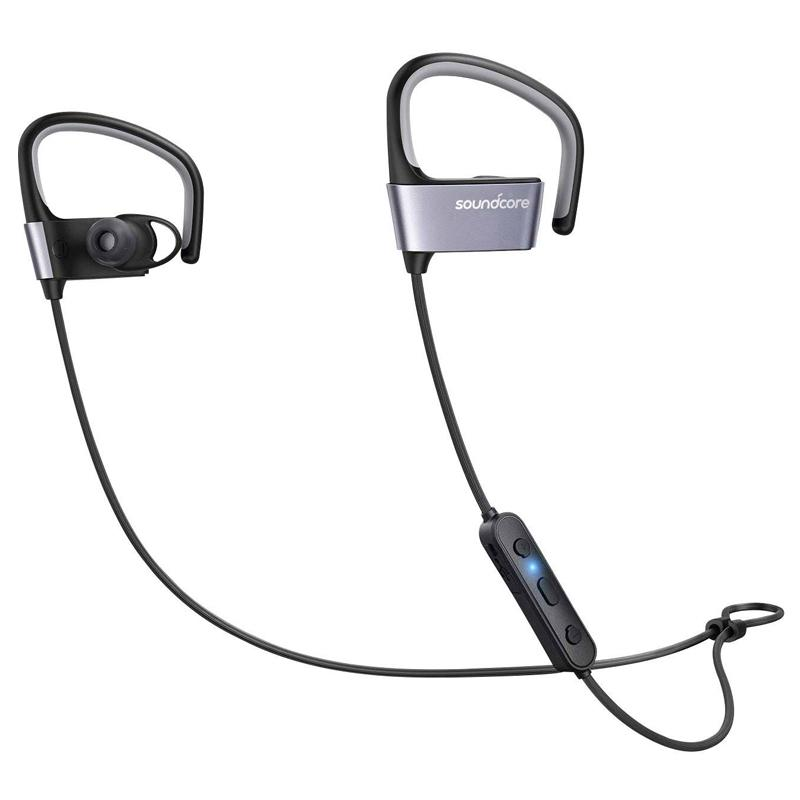 Anker Soundcore Arc Wireless Bluetooth Sports Headphones - Black/Blue