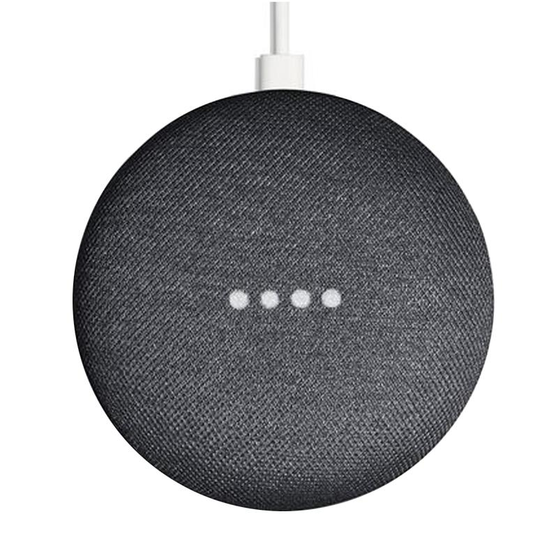 Google Home Mini Smart Speaker - Charcoal