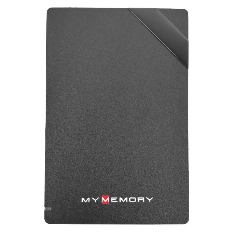 MyMemory 500GB USB 3.0 Portable Hard Drive  - Black