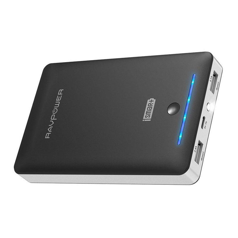 RAVPower 2.4A 16750mAh Portable Power Bank - Black