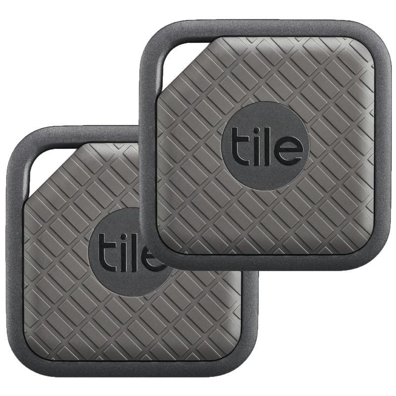 Tile Sport Key and Phone Finder 2 Pack - Graphite