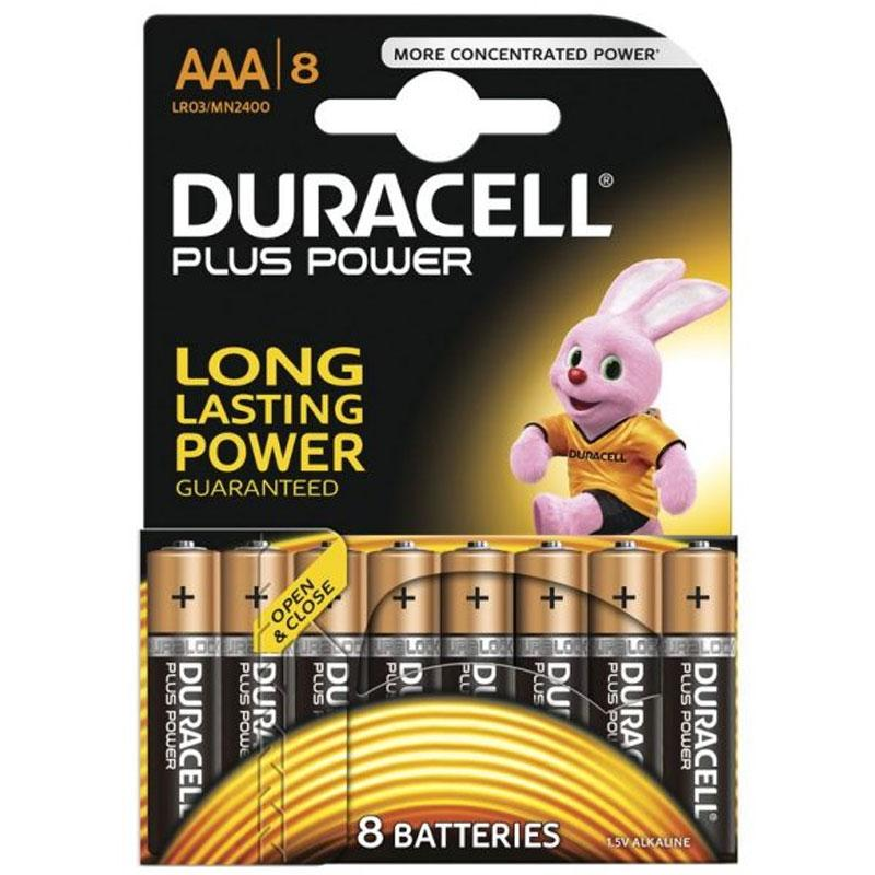Duracell Plus Power Size AAA - 8 Pack