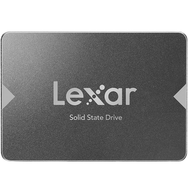 """Lexar 256GB NS100 2.5"""" SATA III SSD Drive - 520MB/s"""
