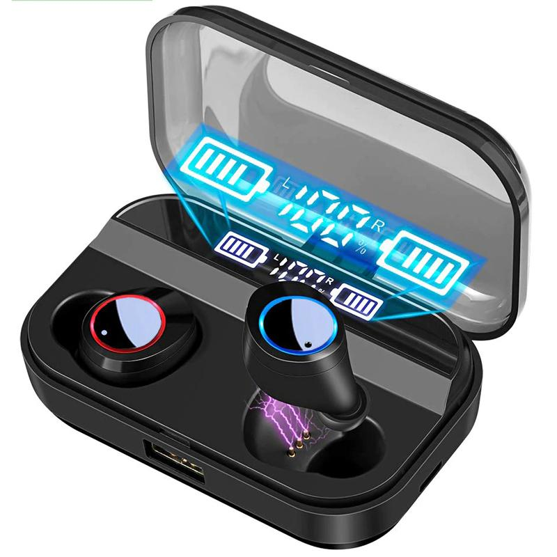 True Wireless Touch Control Earbuds TWS Bluetooth 5.0 , IPX7 Waterproof with Charging Case
